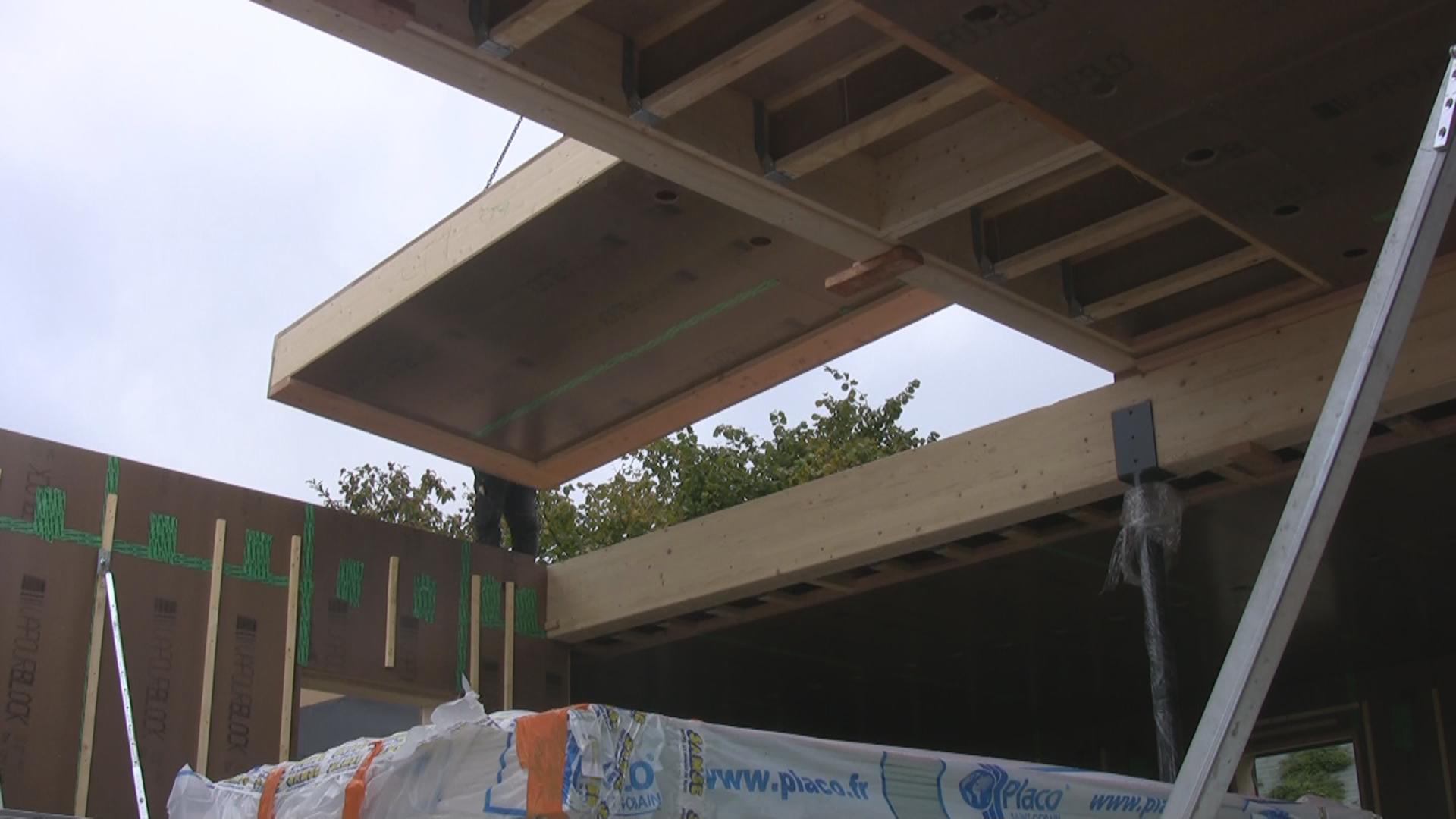 Extension de maison en ossature bois agrandir sa maison for Agrandir sa maison en ossature bois